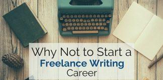 why not start freelance writing