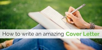 write amazing cover letter