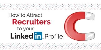 attract recruiters to linkedin