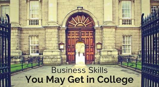 business skills in college