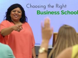 Choosing the Right Business School