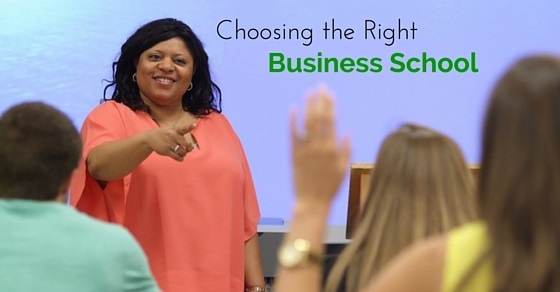 choosing right business school