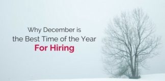december best time for hiring
