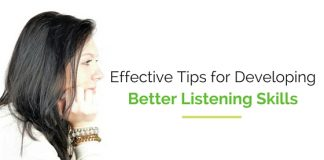 developing better listening skills