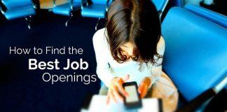 find best job openings