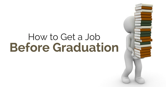 get job before graduation