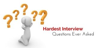 hardest interview questions asked
