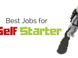 jobs for self starter