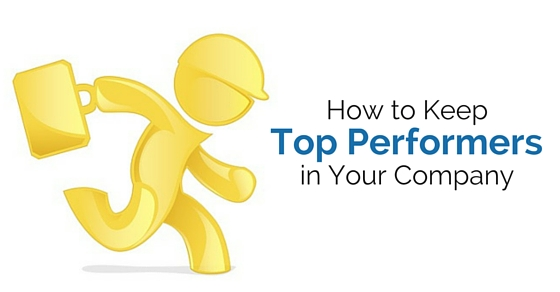 keep top performers in company