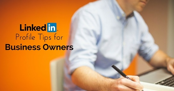 linkedin profile tips business owners