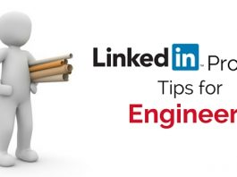 linkedin profile tips engineers