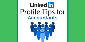 linkedin profile tips for accountants