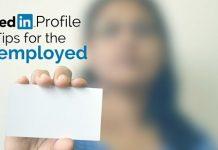 linkedin profile tips unemployed