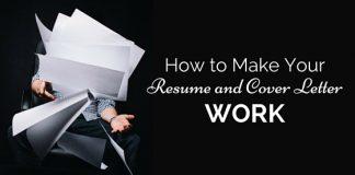 make resume cover letter work