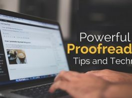 powerful proofreading tips techniques
