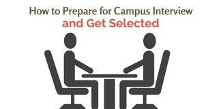 prepare for campus interview