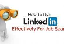 use linkedin job search