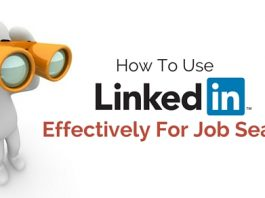 use linkedin job search