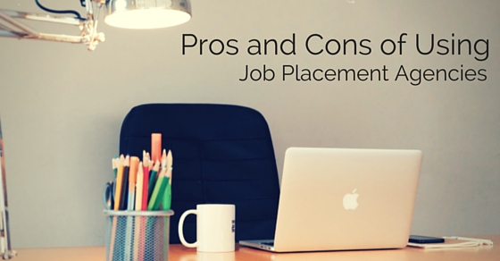 using job placement agencies