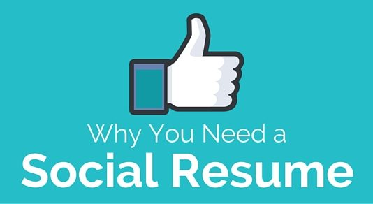 why need social resume