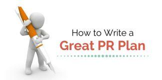 writing great pr plan
