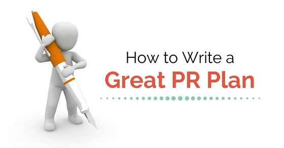 writing great pr plan