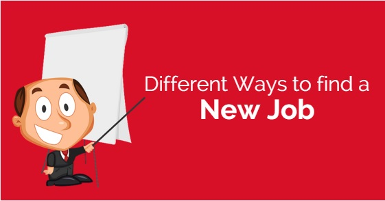Different ways to find Job