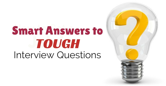 answers to tough interview questions