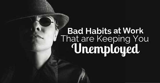 bad habits at work