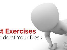 best exercises at desk