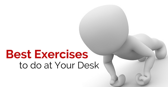 best exercises at desk