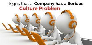 company culture problem signs