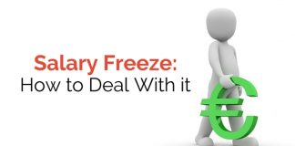 deal with salary freeze
