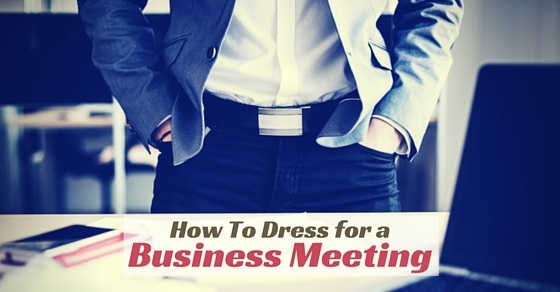 dress for business meeting