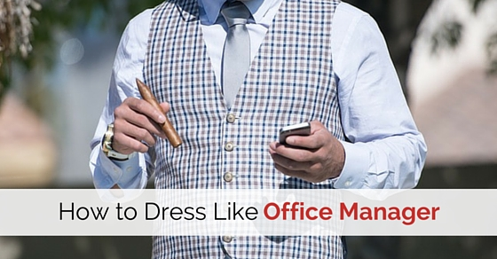 dress like office manager