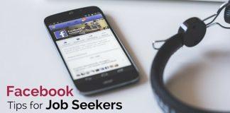 facebook tips job seekers