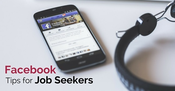 facebook tips job seekers