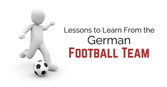 german football team lessons