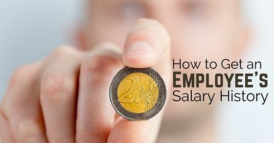 get employee salary history