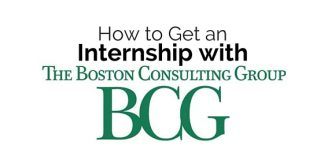 get internship with bcg