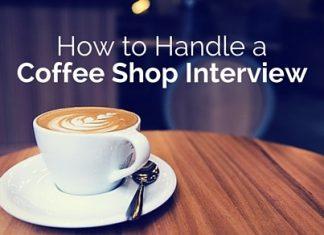 handle coffee shop interview