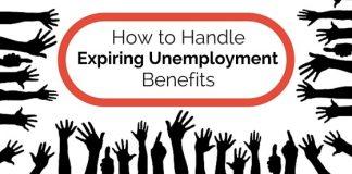handle expiring unemployment benefits