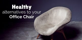 healthy alternatives to office chair