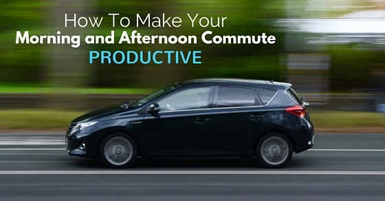 how make commute productive