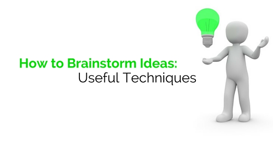 how to brainstorm ideas