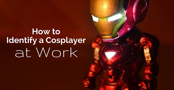 identify cosplayer at work