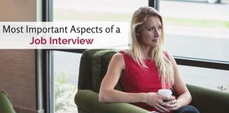 important aspects of job interview