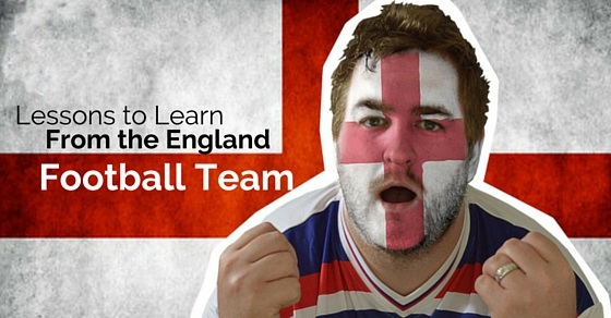 lessons from england football team