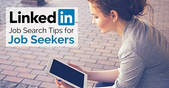 linkedin job search tips