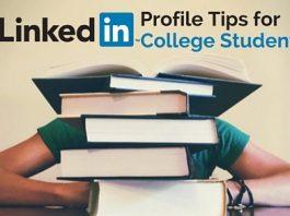 linkedin profile tips college students